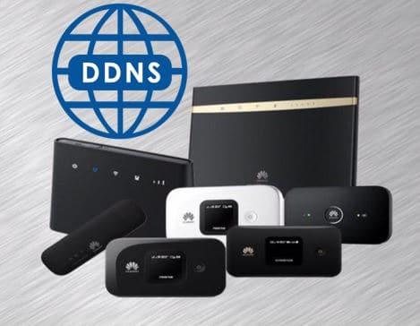 DDNS روی مودم های هوآوی