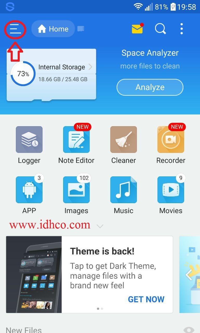 برنامه es file explorer برنامه es file explorer برای اندروید دانلود برنامه es file explorer آموزش برنامه es file explorer