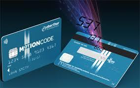 کارتهای غیرتماسی motion code
