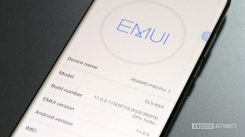 رابط کاربری جدید گوشی های هواوی