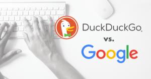 موتور جستجوی داک داک گو و گوگل