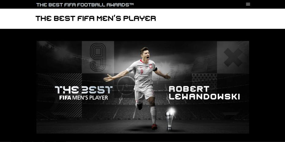 بهترین فوتبالیست جهان در سال 2020
